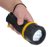Picture of Portwest PA60YBR Series PA60 7 L.E.D Rubber Torch - Regular - Yellow/Black