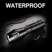 Picture of Sun-Lights : Small Torches LED Super Bright Flashlight 1600 Lumens Security Strong Tactical Focus Powerful Waterproof Cree Outdoor Torch For Children Night Camping Fishing Hiking Dog Walking Emergency