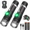 Picture of Torch LED Rechargeable - iToncs Torch Super Bright Powerful Tactical Flashlight Torches for Camping - Hiking - Fishing[2 Pack]
