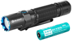 Picture of Olight M2R Pro Warrior Tactical Max 1800 Lumens 300m Throw Rechargeable Torch Flashlight - Powerful Dual Switch LED Torch with 21700 Battery for Outdoors Hunting Household Search and Rescue