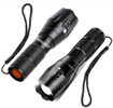 Picture of REALMAX® LED Torch Powerful 800 Lumens Ipx6 High Power Small Mini Super Ultra Bright Filter Pocket Torches Flashlight Zoomable 5 Modes Adjustable Focus Water Resistant Portable for Camping Outdoor