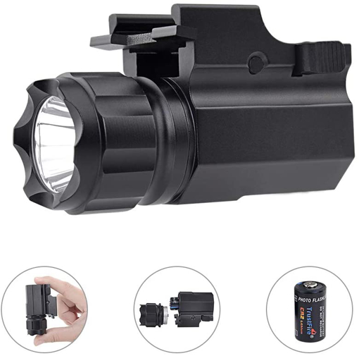 Picture of TrustFire P05 CREE LED Tactical Flashlight 210 Lumens Torch Quick Release Mount