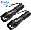 Picture of AUSPICE LED Flashlight - Led Torch Tactical Flashlight 5 Lights Modes Ultra-Bright Zoomable IP65 Waterproof Handheld Flashlights - Perfect for Camping - Hiking & Daily Using