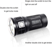 Picture of ThruNite TN36 LED Flashlight(Limited Version) -11000 Lumen CREE XHP 70B LED Handheld Torch Powerful Floody Flashlight Power by 4xIMR 18650 Batteries (Batteries not Included) for Search and Rescue CW