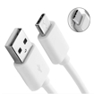 Picture of Original Samsung Galaxy S9 S10 S20 Type C USB-C Sync Charger Charging Cable - White