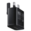 Picture of Samsung Genuine Adaptive Fast Wall Charger UK Plug Adapter Universal - Black
