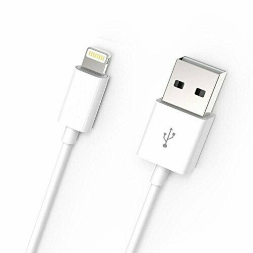 Picture of New 1 Meter USB Charging Wire For Apple iPhone 6, 7, 8, X, XR, XS, XS, XS