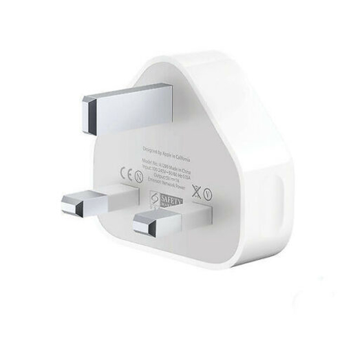 Picture of Original CE Charger Plug & 1m USB Sync Cable for Apple iPad iPhone 5 6 7 X XR XS
