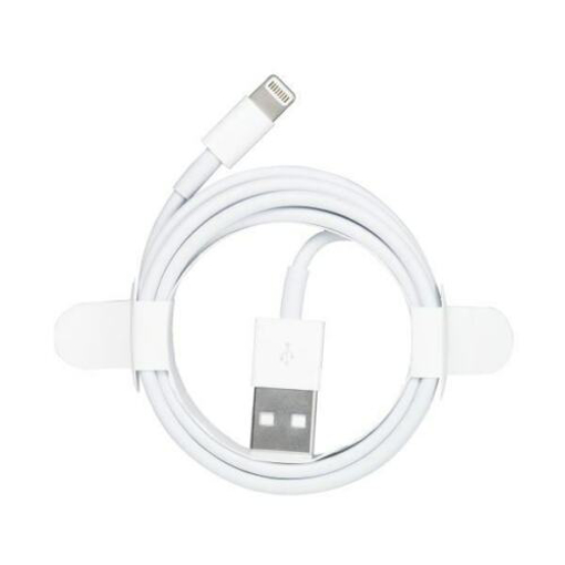 Picture of USB Lightning Charger & Data Sync Cable Lead For Apple iPhone 5 5s 5c 6 7 8 X XR