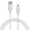 Picture of Genuine Samsung Micro USB Charge & Sync Cable For Samsung Galaxy J3, J5, J7 and Compatible to All Other Samsung Micro USB Devices (White Micro USB Cable Only)