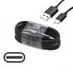 Picture of Genuine Official Samsung Super Fast Charging Adaptive UK Wall Plug and Type C Data Sync Cable/Lead For Samsung Galaxy Note 10,10+ 10,S10,S10+,S10e,S9,S9+, all Type C Devices - Black