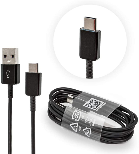 Picture of Genuine Samsung Galaxy Tab S6 Tab S5e USB-C Type (1 meter) Charger Cable Data Sync Lead - Black