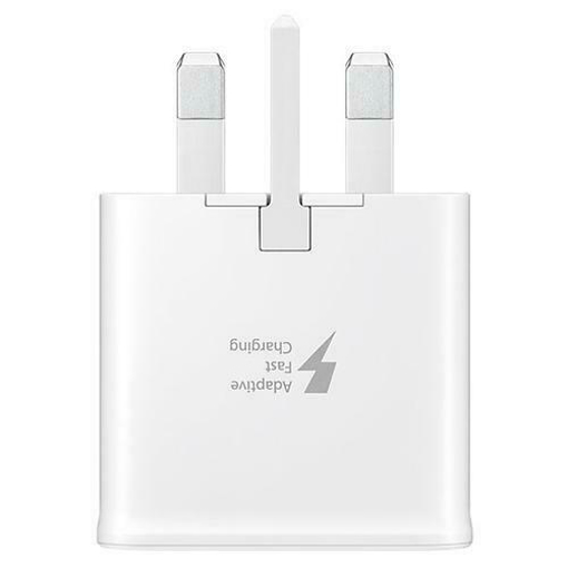 Picture of Original Samsung Galaxy Note 10   Note 10+ USB Charger Plug Fast Adaptive Charge - White