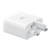 Picture of Original Samsung Galaxy Note 9 USB Charger Plug Fast Adaptive Charger Plug (UK) - White