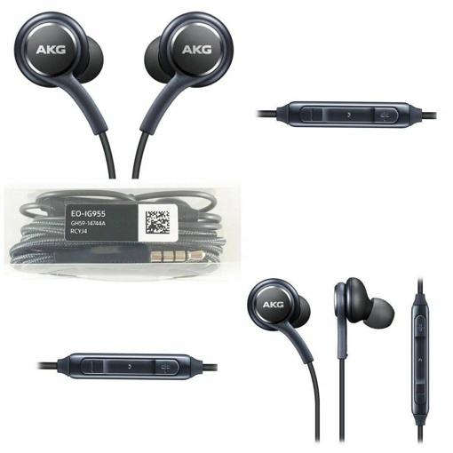 Picture of Original Headset For Samsung Galaxy S8, S9 S10 S7 Edge AKG Headphones Earplugs