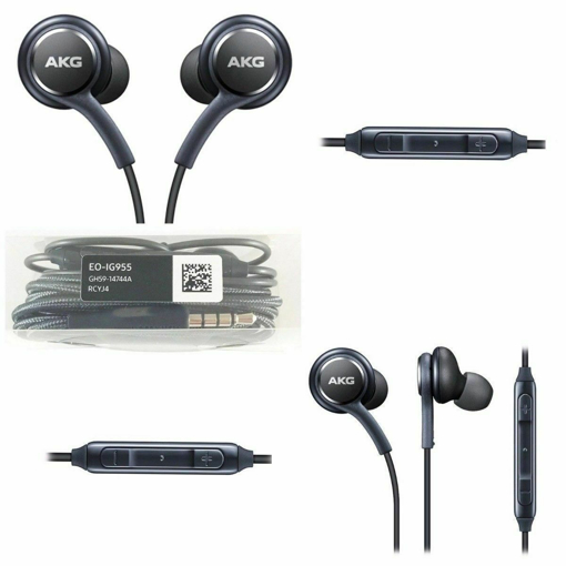 Picture of Official Galaxy S9,  S9+  InEar Headphones Tuned by AKG Remote Mic Earphones
