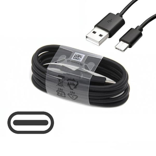Picture of 2M Long USB-C Data Sync Lead Charger Cable For Samsung Galaxy S20 S20e S20Plus S20 Ultra