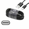 Picture of Genuine Samsung Fast Charger Adapter & 3M USB-C Cable For Galaxy S20 Plus  Black