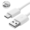 Picture of Genuine Samsung Fast Charger Adapter & 3M USB-C Cable For Galaxy S20 Plus  White