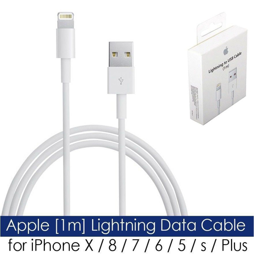 Picture of Apple [1m] Genuine Lightning Data Cable for iPhone X/8/7/6/5/s/Plus SE &  iPad