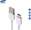 Picture of Genuine 1M Long USB-C Data Sync Lead Charger Cable For Samsung Galaxy A70 A70s A71 A80 all A Series Galaxy Phones.