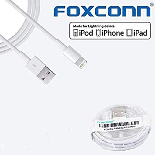 Picture of Apple iPhone Lightning USB Cable Foxconn - MD818ZM/A - iPhone iPad iPod