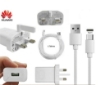 Picture of Genuine Huawei Fast Charging Plug Adapter and 1 meter USB-C Cable for all Huawei Model of Type-C port.