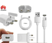 Picture of Genuine Huawei Fast Charging Plug and USB-C Cable for P Series Mobiles to Experience  Super Charging