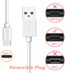 Picture of Genuine USB-C Fast Charger Cable Data Lead For Samsung Galaxy Tab S10, S10+ 2020