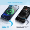 Picture of Magnetic Wireless Charger, 15W PD Fast Wireless Charging Pad Compatible with iPhone Max Built-in Magnets with Type C, Compatible with iPhone 12/SE/11/11 Pro/X/XS Max/Samsung S21/S20/S10/S9 Note 20/10