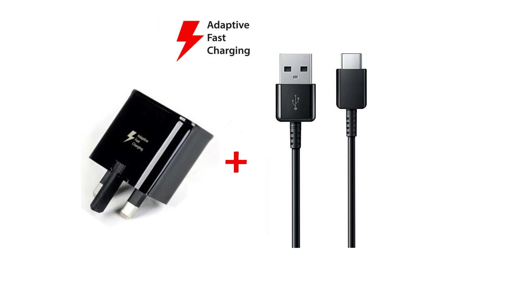 Picture of Genuine Huawei P9, P10, P20, P30, P40 Fast Charger with 1 meter USB-C Cable -Black